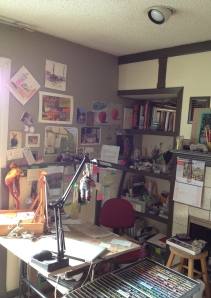 A Space of One's Own - my tiny studio in a shared space