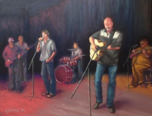 """Newcastle Jam 2"" 9 x 12 SOLD Lorraine Young"