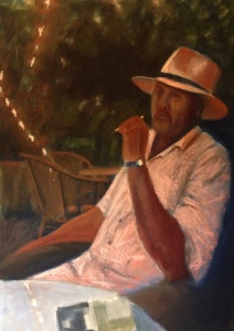 "WIP - Cohiba Sunset  - Lorraine Young - soft pastels on sanded pastel paper - 22"" x 30"""