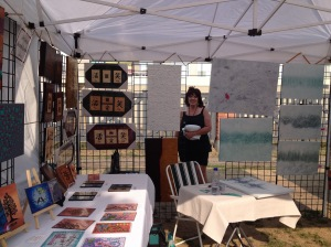 Bonnie Koshman at Art Walk 2015 MKT