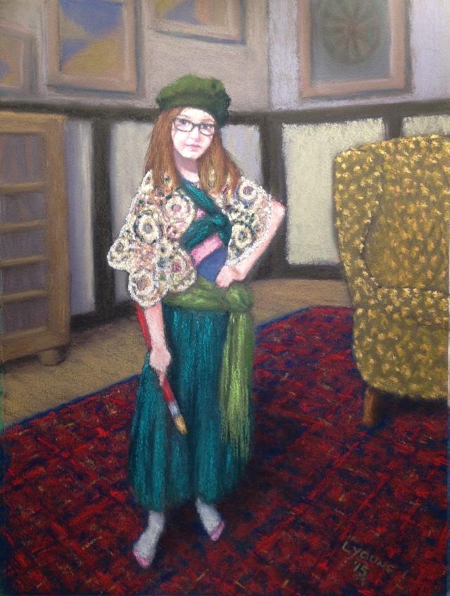 La Jeune Boheme en Vert_Lorraine Young_9