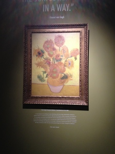 Van Gogh exhibit Southgate Oct 2015 1
