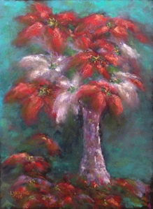 """Last Christmas"", soft pastels on Pastel Premier Italian Clay sanded pastel paper, 9"" x 12"", $210 unframed Lorraine Young"